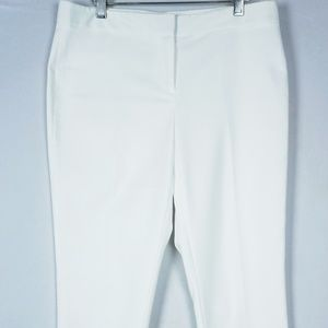 Vince Camuto Ultra White Ankle Pants #323
